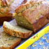 Almost No Fat Banana Bread Recipe - Applesauce, not fat, provides the moisture in this tender banana bread.