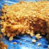 Apple Crisp II Recipe - Apples in syrup snuggled between oaty cinnamon-crumble layers and baked.
