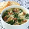 Super-Delicious Zuppa Toscana Recipe and Video - If you love the Zuppa Toscana at your local chain Italian restaurant, you will adore this soup. The rich soup is made with Italian sausage, potatoes, cream, and crushed red pepper. It is truly satisfying and irresistible. Tuck into this on a cold day and you are sure to be warmed all the way down to your toes.
