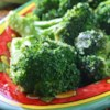 Brilliant Sauteed Broccoli Recipe - This recipe shows how you can shock your greens to stay brilliant, while making a presentation that says you really care about your food. The combinations of color with the bright green, red flakes, and white/brown topping is pleasing. The taste highlights sweet against spice, with a nice, crisp bite of seasoned broccoli.