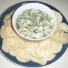 Best Ever Spinach Artichoke Dip Recipe - This dip is very rich, chunky, and cheesy! Try serving it in a bread bowl.