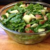 Potato Arugula Salad Recipe - A different and yummy potato salad; it uses no mayonnaise.  This is a nice alternative to use arugula, rather than just adding it to a green salad.