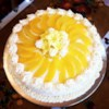 Chiffon Cake Recipe - This is a favorite for children's birthday parties. Serve with fruit or decorate with Butter Cream Frosting.