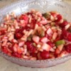 Fruit Salsa and Cinnamon Chips Recipe - Easy to make, fruit salsa served with cinnamon tortilla chips. Great for parties!