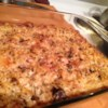 Ham and Swiss Casserole Recipe - Chopped onions, melted Swiss cheese and diced ham casserole baked with egg noodles.