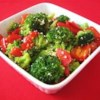 Sesame Broccoli Recipe - Need a quick and easy side dish? Broccoli and bell pepper are stir fried with sesame seeds for a tasty side dish that complements any meal.