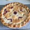 Saskatoon Pie Recipe - A not-too-sweet and fruity pie. Saskatoon berries are known as serviceberries in the United States. This berry has often been compared with blueberries though it has more of an apple flavor.