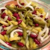 Three Bean Salad Recipe and Video - We like a buffet with all the family here. We serve a variety of salads. This is also great for summer picnics and cookouts. Keeps well, and serves a lot of people.