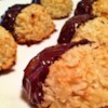 Perfect Coconut Macaroons Recipe - These coconut macaroons are dipped in chocolate and taste like they came from the bakery.