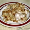 Super Sunday Chicken Recipe - Swiss cheese lends a nutty flavor to chicken in mushroom sauce topped with stuffing.