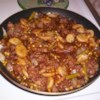 Cube Steak Stew Recipe - This stew is fast and easy. It uses canned vegetables and bottled browning sauce to speed preparation. It simmers for less than half an hour.