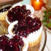 Cheese Cake Cups Recipe - Cupcakes with a vanilla wafer crust and a sweetened cream cheese top.
