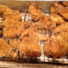 Oven Fried Chicken IV Recipe - Always a hit! People will be wanting seconds. Crispy chicken that is made lower in fat, without being soggy. You may remove the skin from the chicken if you like. Serve with Cheese Mashed Potatoes.