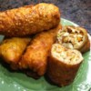 Jan's Simple and Tasty Egg Rolls Recipe - Homemade egg rolls with shrimp, coleslaw mix, and garlic are great as an appetizer, side dish, or after school snack. Who needs take out when you can make egg rolls yourself?