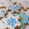 Thick Cut-Outs Recipe - A big batch of big thick sugar cookies. These are THE big soft sugar cookies you have been looking for. Frost them while warm and sprinkle with colored sugar.