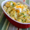 Loaded Cauliflower Recipe and Video - Steamed cauliflower is mixed with sour cream, Cheddar cheese, and ranch dressing mix in this rich recipe for loaded cauliflower that is very similar to a loaded potato.