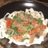 Noodles Marmaduke Recipe - This is an easy Stroganoff dish made with Burgundy wine. Simple, delicious and quick to make.