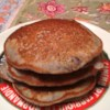 Blue Cornmeal Pancakes Recipe - This is a recipe from a cafe in Santa Fe, New Mexico. They are good with maple syrup or, if you're ambitious, with homemade peach or raspberry spread. This recipe serves four people, fewer if they're very hungry.
