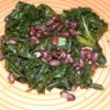 Kale and Adzuki Beans Recipe - A great side dish, seasoned kale and adzuki beans also work well as a vegetarian main dish when served over rice.