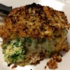 Gouda and Spinach Stuffed Pork Chops Recipe and Video - Delicious stuffed and breaded pork chops made with six ingredients - thick-cut pork chops, smoked gouda, fresh spinach, horseradish mustard, panko crumbs, and Creole-style seasoning.