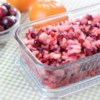Fresh Cranberry Relish Recipe and Video - In this uncooked relish, cranberries are coarsely chopped in the bowl of a food processor with crushed pineapple, Mandarin orange slices, and fresh apple chunks.