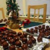 Peanut Butter Balls III Recipe and Video - This is another recipe for Peanut Butter balls.  This one I got from my 96 year old neighbor, Mrs. Lucille Savage.  She still makes them at Christmas and now I do too.