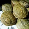 Green Tea Muffins Recipe - These rich delicious muffins are made with the Japanese green tea powder, matcha.