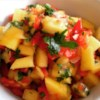 Mango Salsa Recipe and Video - This spicy, fruity blend of fresh ingredients will turn any dish into an exciting new favorite!