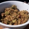 Leslie's Broccoli, Wild Rice, and Mushroom Stuffing Recipe - This is the only stuffing I ever make and it gets RAVES! Not only is it beautiful, it has a wonderful meld of flavors and textures. Want something different than a sage dressing? Try mine!