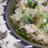 Bowties and Broccoli Recipe - Bowties, steamed broccoli, and Romano cheese - Delicious!