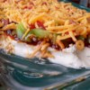 BBQ Bacon Ranch Dip Recipe - The flavors of barbeque sauce, cool ranch, and bacon blend together in this perfect dip!