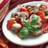 Byrdhouse Marinated Tomatoes and Mushrooms Recipe - The flavors of both tomatoes and mushrooms keep blending together in this dish, so it is great the day you make it and even better the following day.