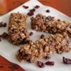 Healthy Nutella(R) Granola Bars Recipe - This chewy granola bar recipe incorporates Nutella(R), applesauce, raisins, and honey, and is easily adaptable to your personal tastes.