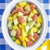 Three Amigos Salad Recipe - Avocado, mango, and grapefruit blend together perfectly for a special, easy to make salad.