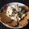 Russian Salmon and Potato Salad Recipe - This salmon salad is a very popular dish served at Russian gatherings and is usually the first one to disappear. It is easy to prepare and can be served at a picnic or as an appetizer.
