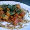 Fragrant Chicken Curry Recipe - It's easy to buy a cooked hen, take the meat off the bone and use it in a 'wow' recipe. I especially like it for dishes like this curry that I might not have time to make from scratch.