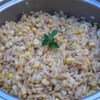 Easy Spiced Brown Rice With Corn Recipe - Rice and corn are cooked with cumin and cilantro. This side dish is a nice change from plain rice.