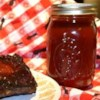 Bourbon Whiskey BBQ Sauce Recipe and Video - Lots of good stuff go into this terrific sauce: brown sugar, ketchup, liquid smoke, Worcestershire, hot pepper sauce, a few other yummy ingredients and almost one cup of whiskey. The ribs won't know what hit them.
