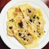 Butternut Squash Ravioli with Sage-Brown Butter Sauce Recipe - The creamy, mellow-flavored butternut squash filling of these wonton wrapper raviolis makes a wonderful contrast with the savory sage butter sauce.