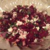 Honey Beet Salad Recipe - A tangy honey dressing coats roasted beets in this tasty salad. Blue cheese and walnuts give it an elegant touch.