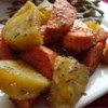 Baked Sweet Potatoes Recipe and Video - This tasty baked sweet potato recipe uses simple seasoning to make a quick and easy, family-friendly side dish.