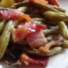 Arkansas Green Beans Recipe - Green beans and bacon are baked in a sweet and savory sauce.