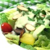 Avocado Green Goddess Dressing Recipe - This creamy variation on Green Goddess dressing replaces pungent parsley with buttery avocado, but includes the usual spices and anchovies.