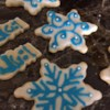 Delilah's Frosted Cut-Out Sugar Cookies Recipe - My Family just loves this sugar cookie recipe. The hardened frosting adds a special touch!