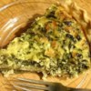 Suzanne's Spinach Quiche Recipe - This is a great vegetarian recipe that can be served for any meal.  It's one of my dad's favorites!