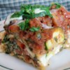 Lori's Spicy Chipotle Lasagna Recipe - This version of lasagna packs lots of flavor from Parmesan and Asiago!