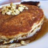 Grain and Nut Whole Wheat Pancakes Recipe - This is the BEST pancake recipe I've tried - nutty, moist, and tasty pancakes!
