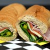 Italian Subs - Restaurant Style Recipe - This is a classic Italian sub sandwich with three kinds of meat and provolone cheese. The kind you get in a mom and pop pizza joint.  You'll be glad you tried it!