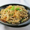 Oriental Cold Noodle Salad Recipe - A spicy, Thai-inspired soba noodle treat that's great for picnics and barbecues. For a Japanese-inspired version, omit the pepper flakes, peanuts, and cilantro; and add toasted sesame seeds.