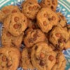 Salted Caramel Chocolate Chip Cookies Recipe and Video - Traditional chocolate chip cookies with the addition of coarse salt and caramel candy pieces is a delightfully delicious treat.